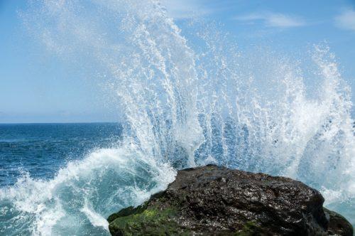 vague rocher tenerife